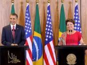 Presidentes enfrentados por Internet.