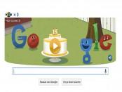 ¡Google cumple 15 años!