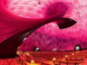 Así es por dentro la primera sala de conciertos inflable del mundo.