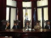 Los ministros darán a conocer el fallo sobre la legalidad de la ley de liquidación de Pluna. M.I.Hiriart (El País)