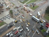 Minimizar la siniestralidad es el objetivo primario del centro de control del tránsito.Foto: María Inés Hiriart (El país)