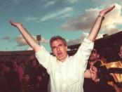 Foto: Fossati en 1996, en su primer ciclo como técnico de Peñarol (archivo El País).