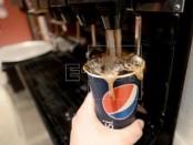 Vista de una máquina dispensadora de gaseosas en Nueva York (EE.UU.). EFE/Archivo