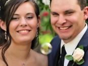 Jordan Linn Graham junto a su difunto marido Cody Johnson.