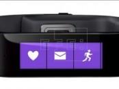 Fotografía facilitada hoy por Microsoft en Redmond (Estados Unidos), que muestra la nueva pulsera de Microsoft Health, un dispositivo que ayuda al usuario a conseguir sus retos deportivos midiendo las pulsaciones, el número de pasos, las calorías quemadas y la calidad del sueño. EFE