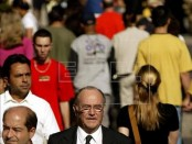 El informe del IBGE, publicado también en la edición de hoy del Diario Oficial de la Unión y que tiene como base el Censo Demográfico de 2010, indicó que al 1 de julio pasado el país suramericano tenía 202.768.562 habitantes en sus 5.570 municipios. EFE/Archivo